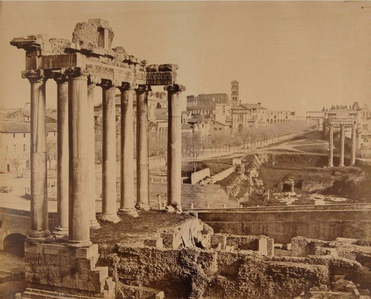 Римский форум. 1875