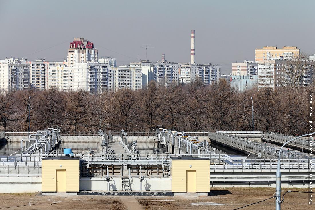 как очищают сточные воды в москве аэротенк фото