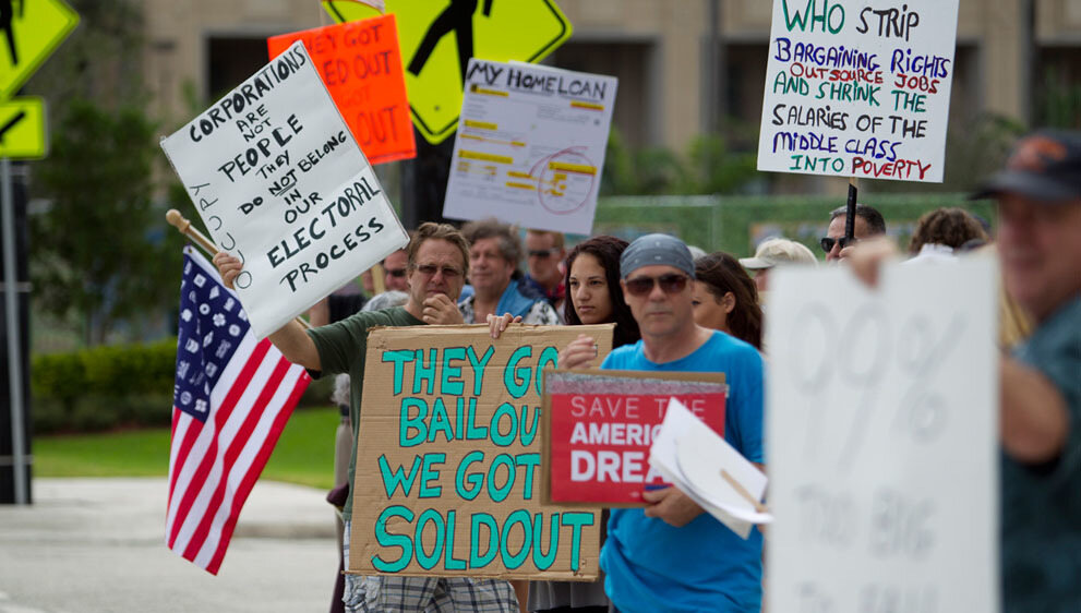 Wall Street Protests Fort Lauderdale