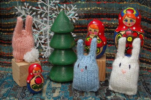 рукоделие: зайцы