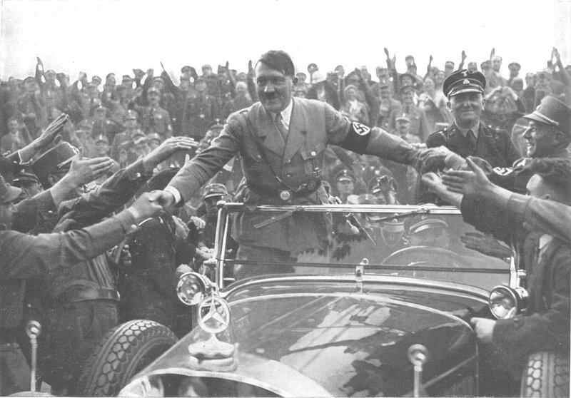 Гитлер и Мерседес