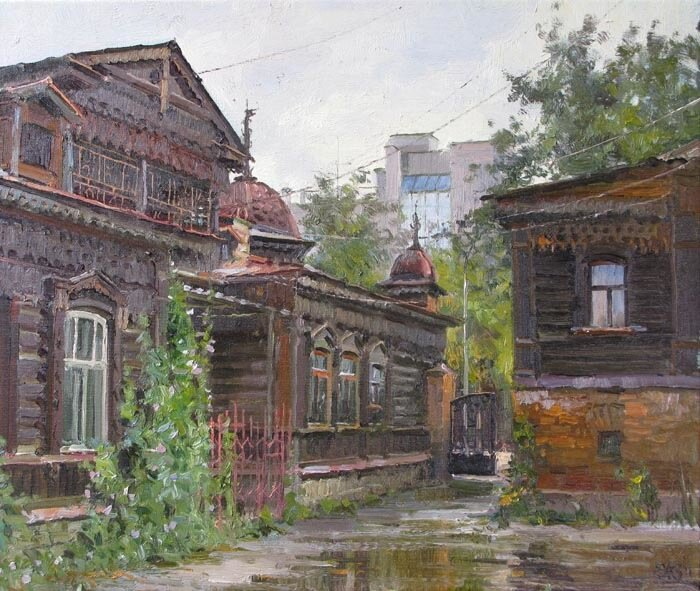 Дом Елизарьева. Екатеринбург