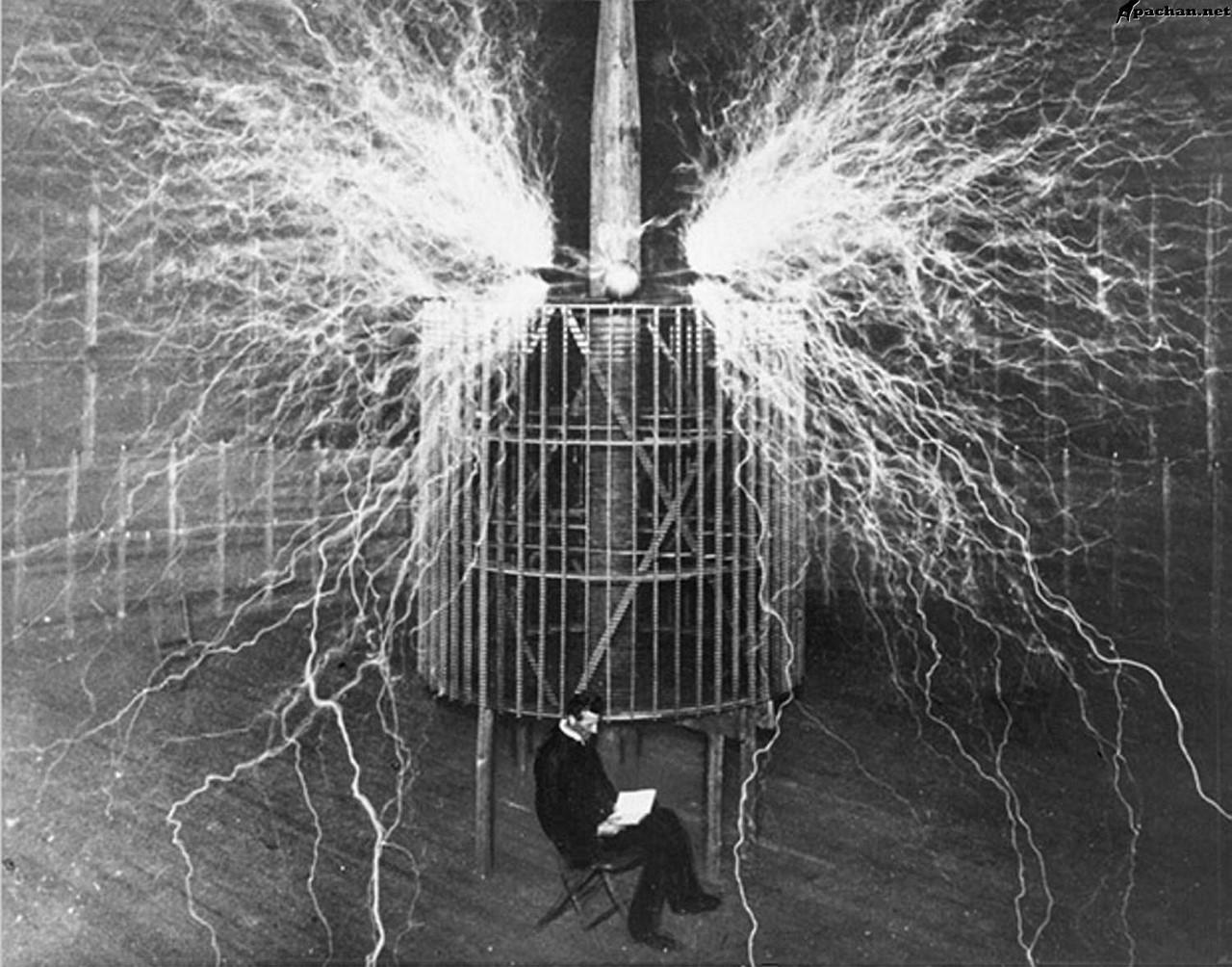 Башни Тесла в лесах Подмосковья Сооружения