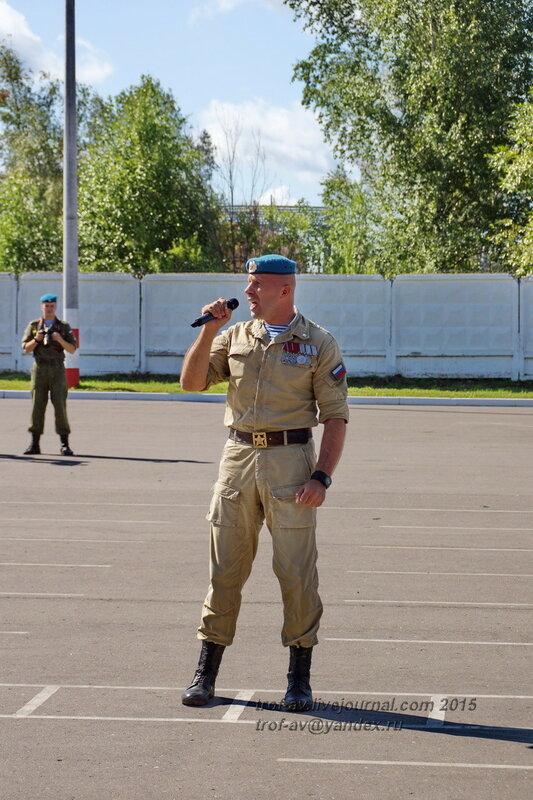 Празднование 85-летия ВДВ в 45 полку СпН ВДВ (теперь отдельная бригада), Кубинка