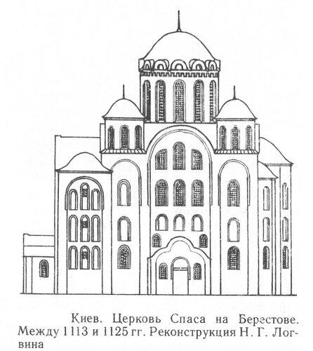 Церковь Спаса на Берестове, фасад