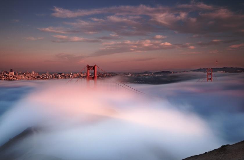 Красивые фотографии тумана в Сан Франциско, США 0 142279 eb5e6db6 orig