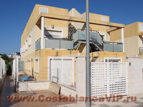 Таунхаус в Oliva, таунхаус в Оливе, таунхаус в Испании, недвижимость в Испании, таунхаус на пляже в Испании, дом у моря, Коста Бланка, CostablancaVIP
