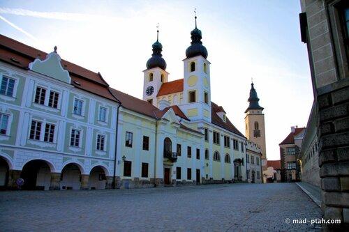 чехия, телч, церковь святого духа