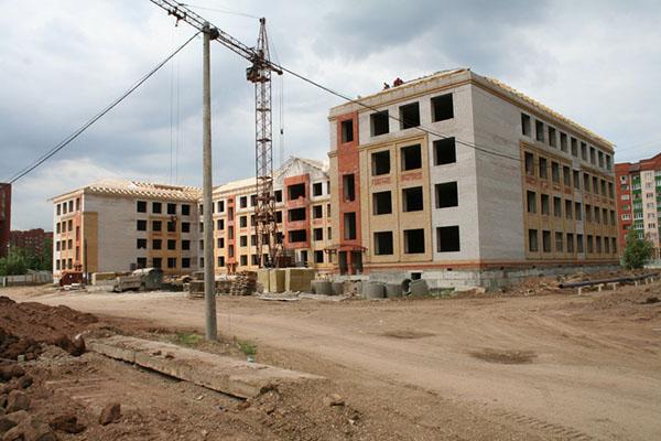 Строительство новых школ в Кирове