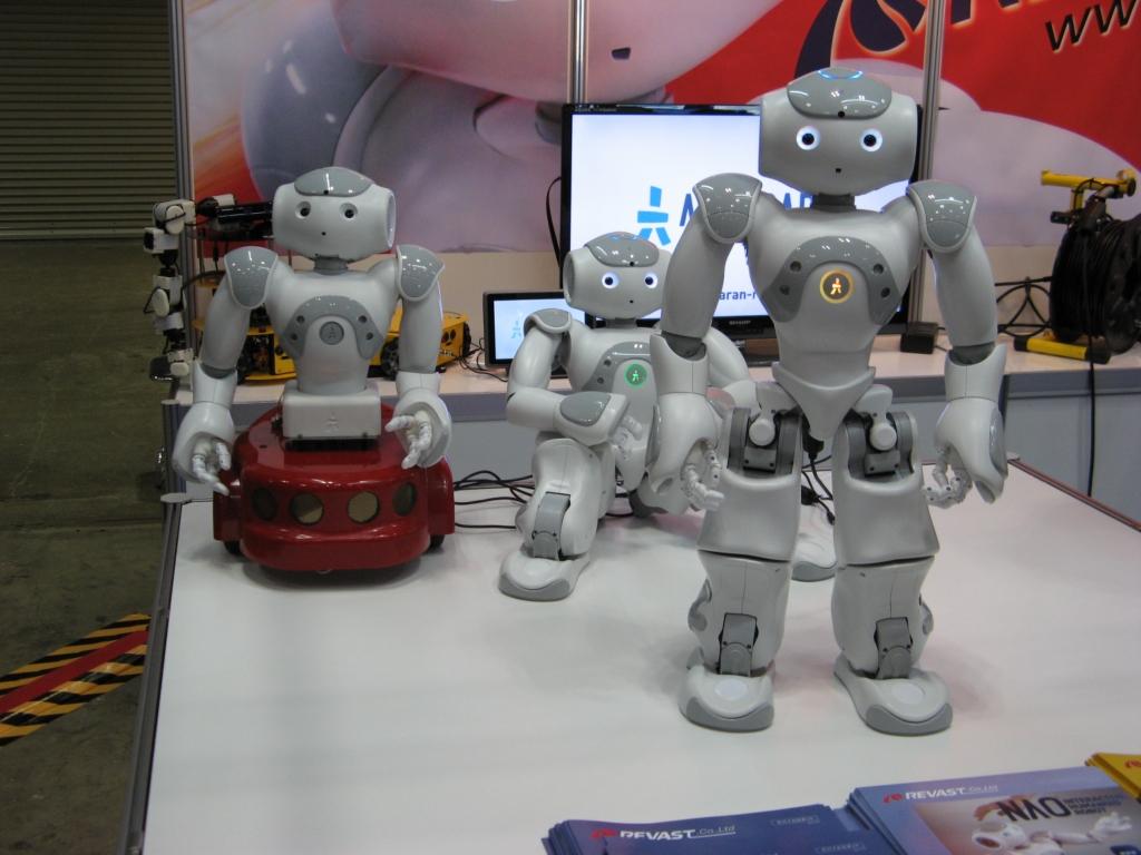 Выставка Робототехники - International Robot Exhibition (IREX)
