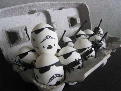 яйца криатив