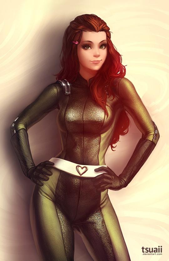 Сексуальные и привлекательные героини комиксов