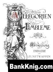 Книга Allegorien und Embleme jpg