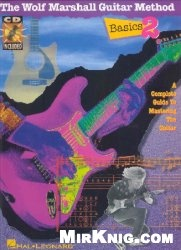 Книга The Wolf Marshall guitar method. Basics 2: a complete guide to mastering the guitar: the visual system of learning guitar