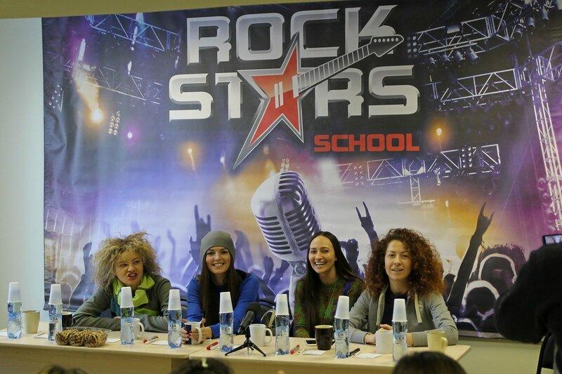 Арт-группа «Soprano Турецкого» в школе рока Rock Stars school Киров