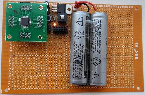 Minimalist Arduino в сборе