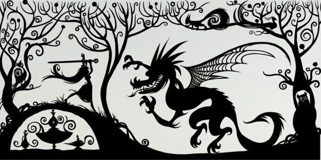Шаблоны драконов