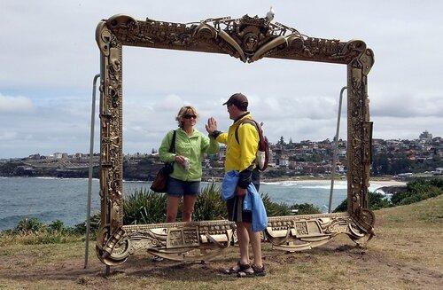APTOPIX Australia Sculputures By The Sea