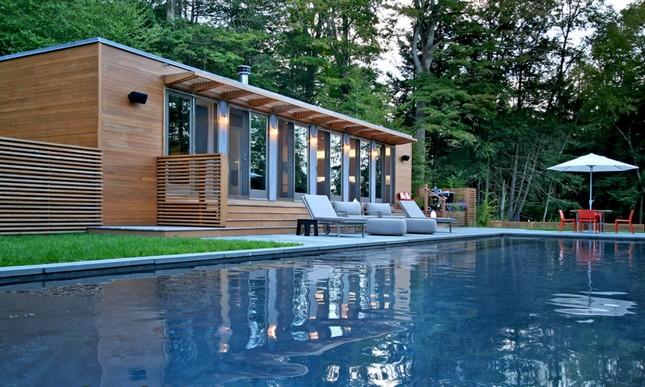 Загородный дом от Resolution 4 Architecture в Коннектикуте