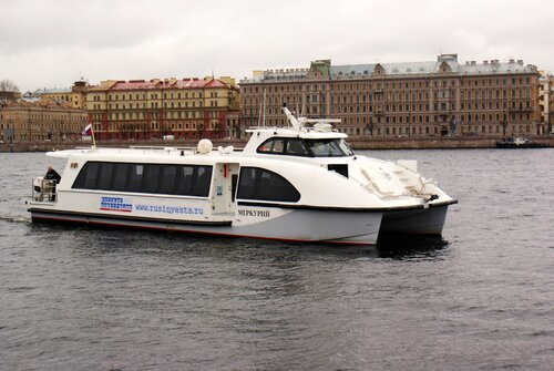 Новые аквабусы свяжут Кронштадт и Зеленогорск с Питером