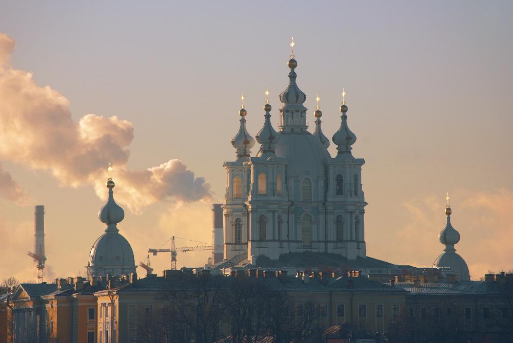 Смольный собор в Петербурге