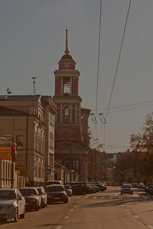 Пятницкая улица - нечетная сторона