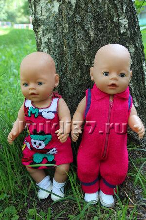 комбинезон и сарафан для Baby Born