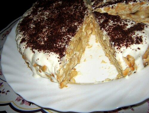 Торт из крекера рыбки рецепт с фото