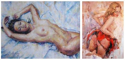 современные художники о любви и эротике