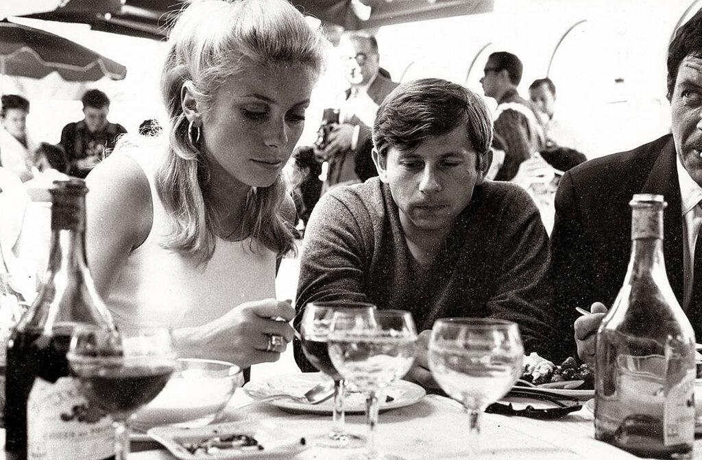 Catherine Deneuve, 1965.