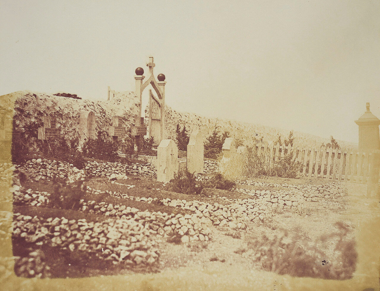 Британское кладбище в Крыму