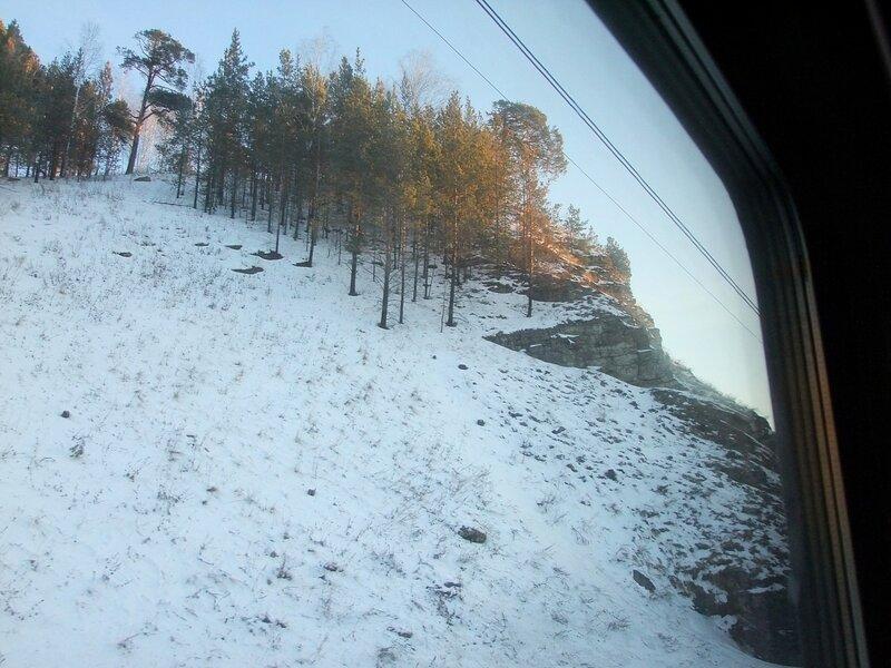 его фото урал из окна поезда наш выставочный зал
