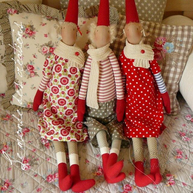 Скандинавские куклы своими руками 36