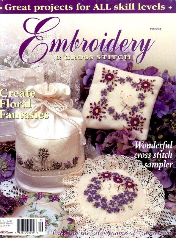 Embroidery & Cross Stitch №7 2011