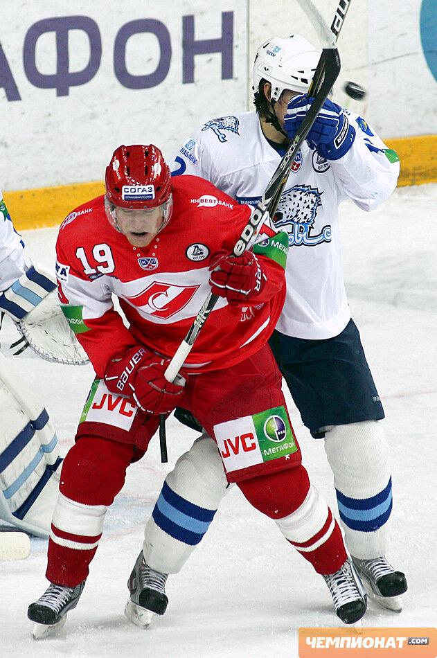«Спартак» vs «Барыс» 2:4 чемпионат КХЛ 2011-2012 (Фото)