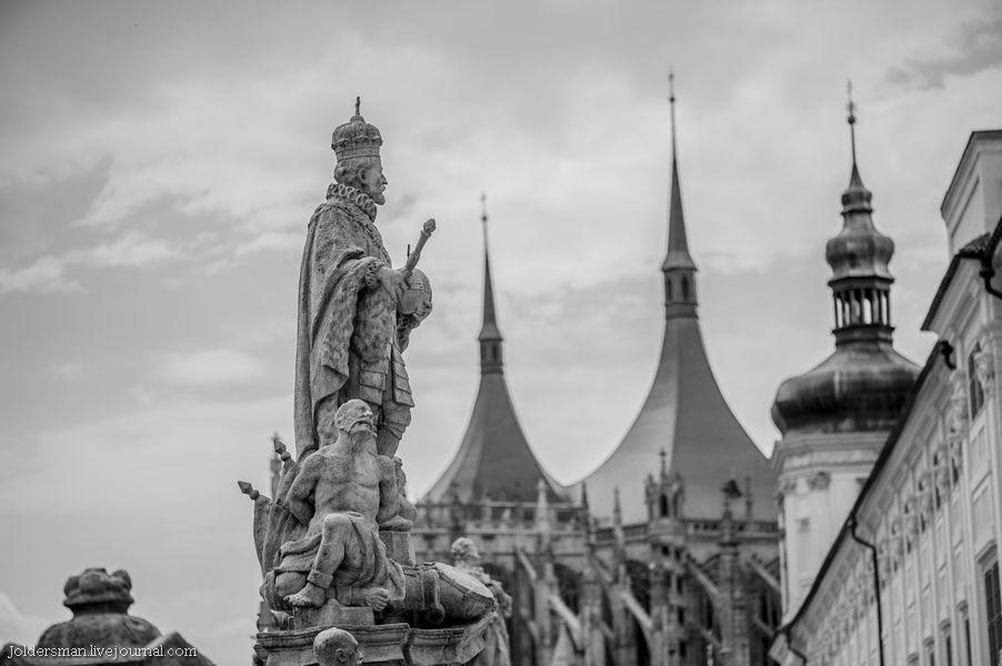 скульптура короля вацлава