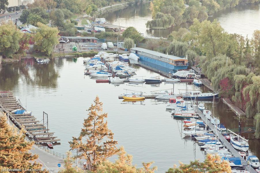 яхты и корабли в Праге
