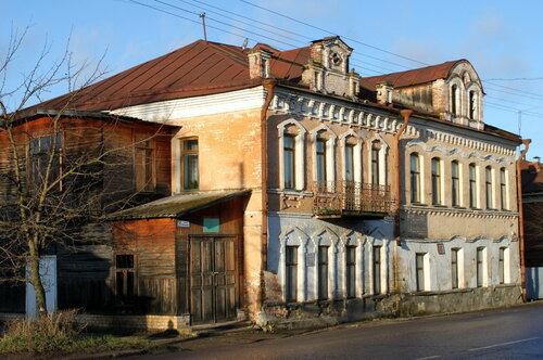 Здание редакции «Старицкий Вестник»