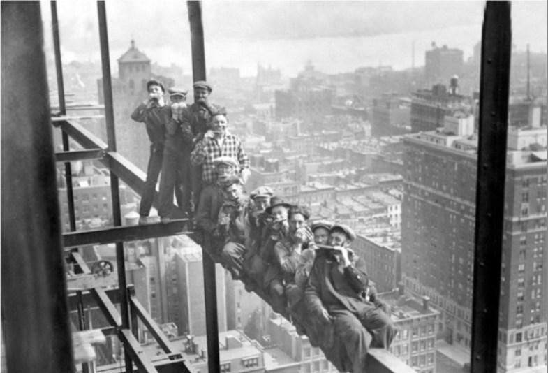 Как строились небоскребы в Нью-Йорке. Я в ахуе... 0_6717c_378596a9_orig