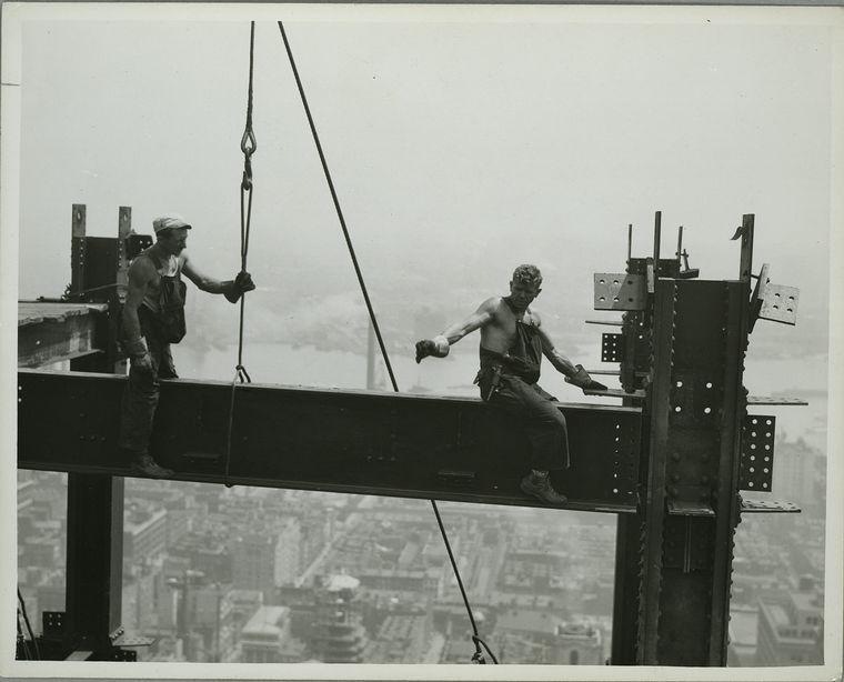 Как строились небоскребы в Нью-Йорке. Я в ахуе... 0_6718b_a5d7e03e_orig