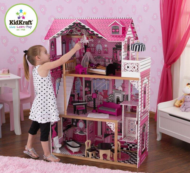 Фото домики для кукол барби своими руками