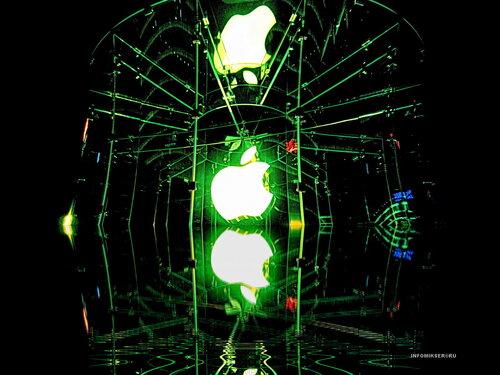 Фантазия на тему витрины салона Apple