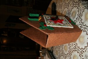 Новогодний домик-часы от Bucilla 0_82f4b_8763b71c_M