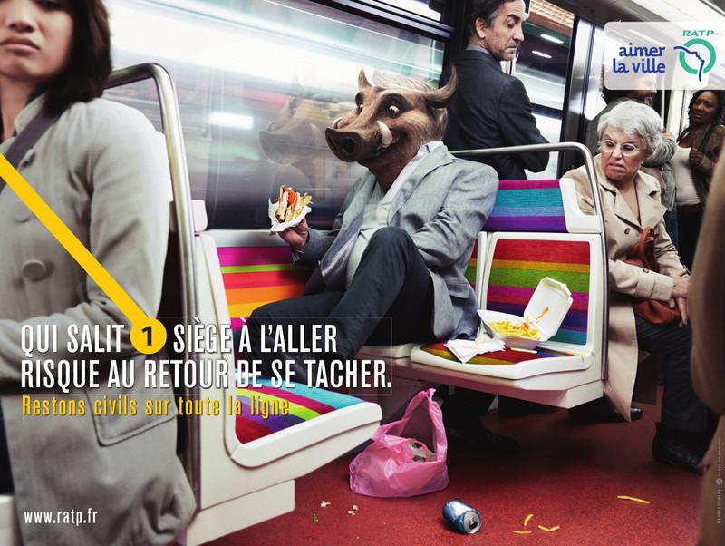 Быдло в метро