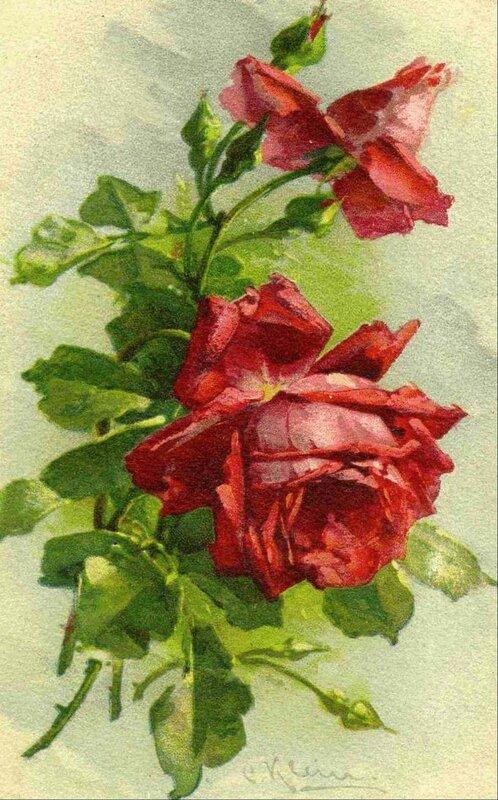 К. Кляй. Розы.