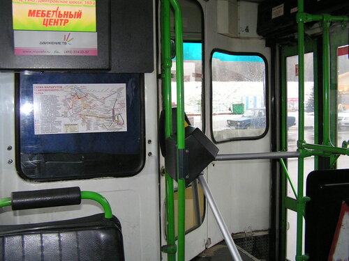 Схема автобусных маршрутов и
