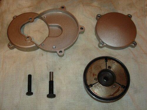Велодвигатели КД и их комплектующие