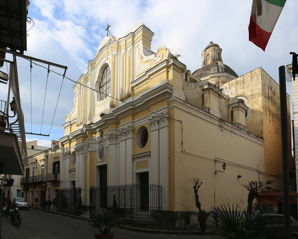 Ischia Ponte. Cathedral (Chiesa Cattedrale Santa Maria dell'Assunta)