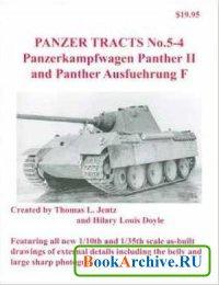 Книга Panzer Tracts No. 5-4: Panzerkampwagen Panther II and Panther Ausfuehrung F