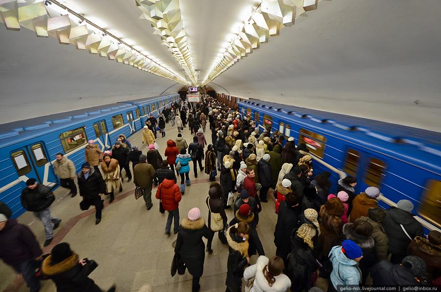 Новосибирский метрополитен - первый и единственный в Сибири, четвёртый и самый восточный метрополитен в России.